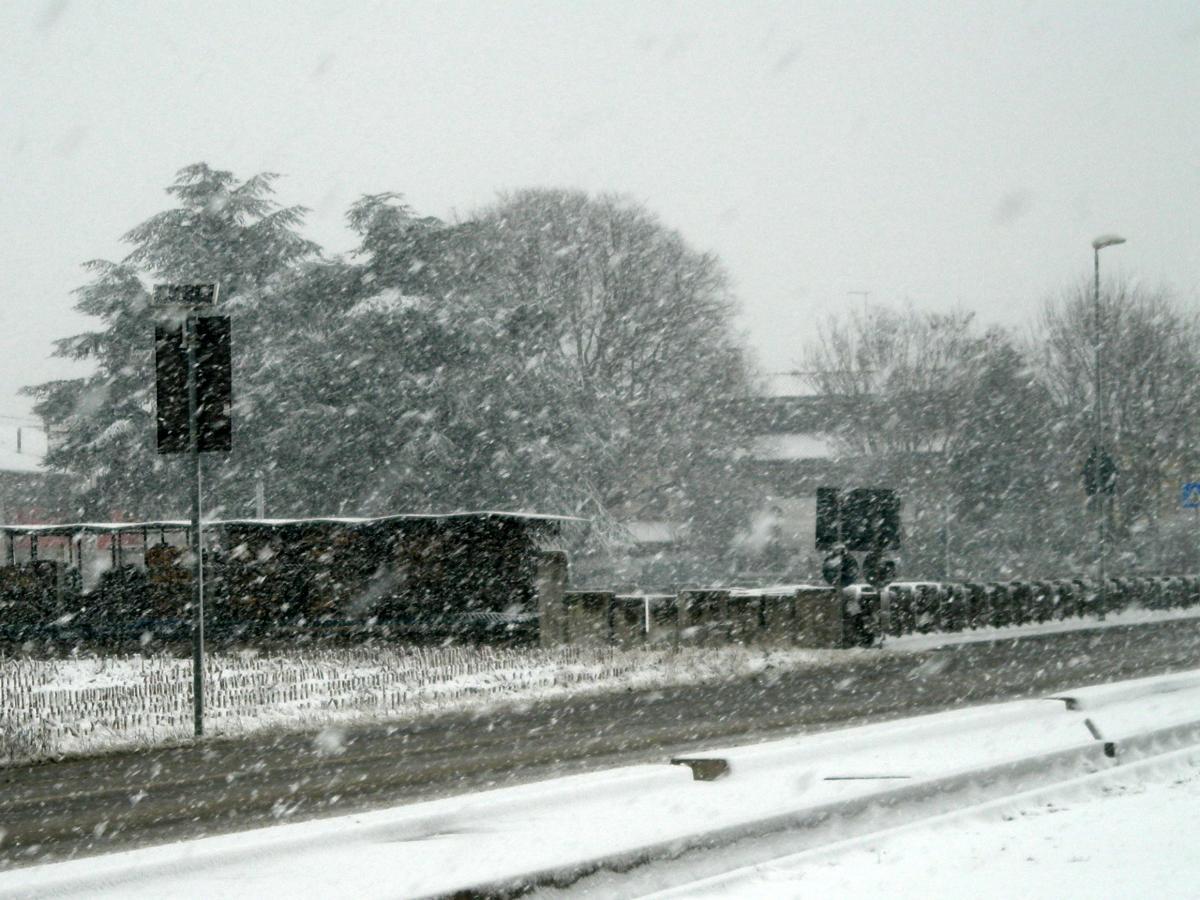 Nevicata a Godego | 11.02.2011